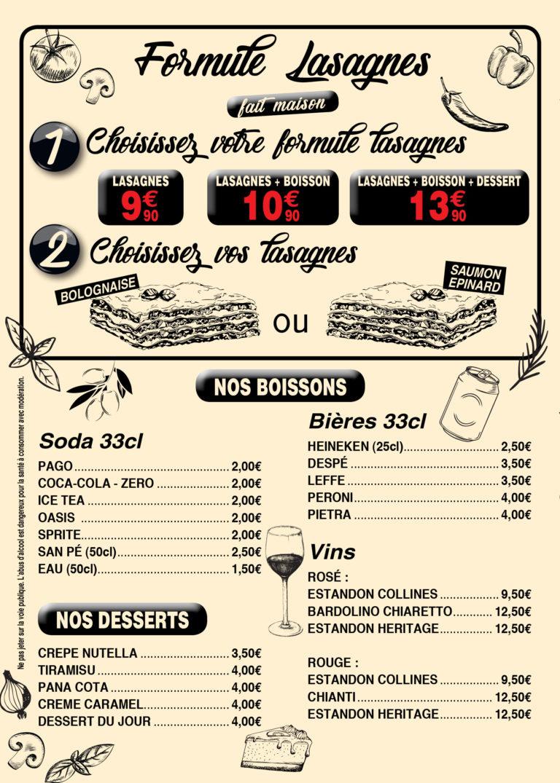Page Menu 4 Ké Pasta