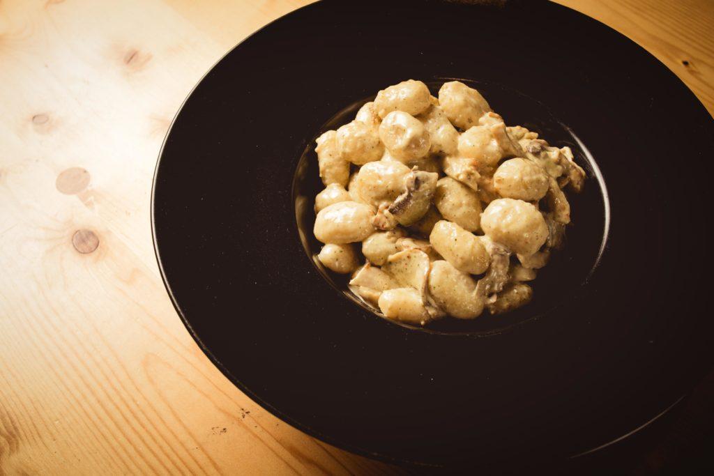 Ké Pasta Gnocchi à la crème et sa sauce forestière